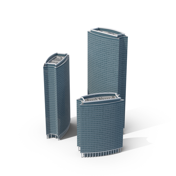 Business Centre  Skyscrapers PNG & PSD Images