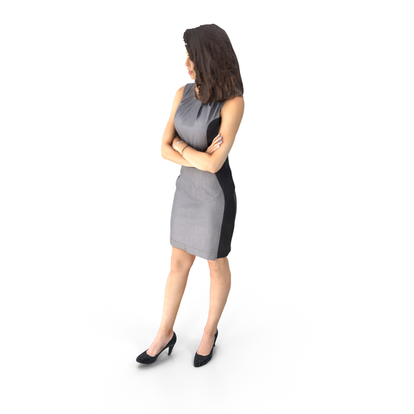 Business Woman Arms Crossed PNG & PSD Images
