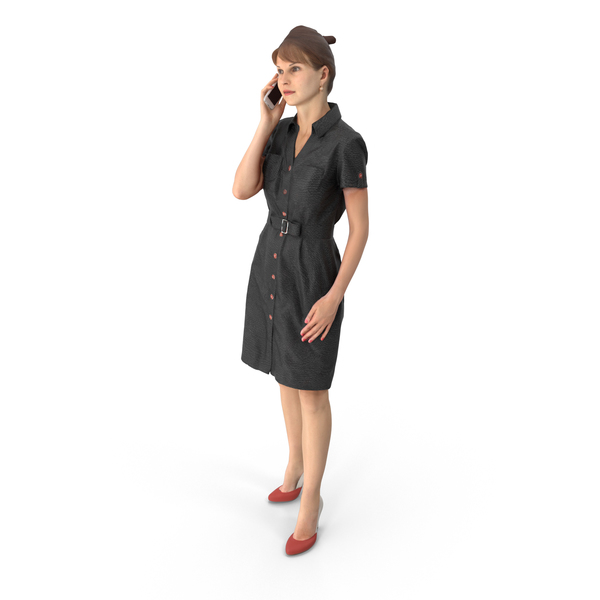 Businesswoman: Business Woman on Phone PNG & PSD Images