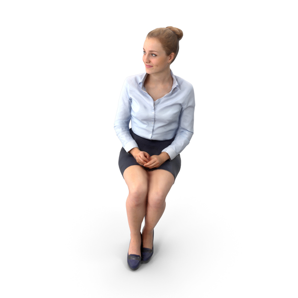 Businesswoman: Business Woman Sitting PNG & PSD Images