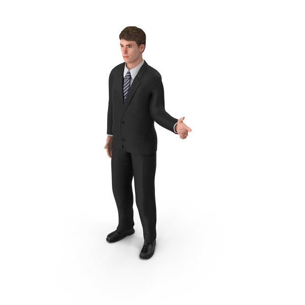 Businessman John Pointing PNG & PSD Images