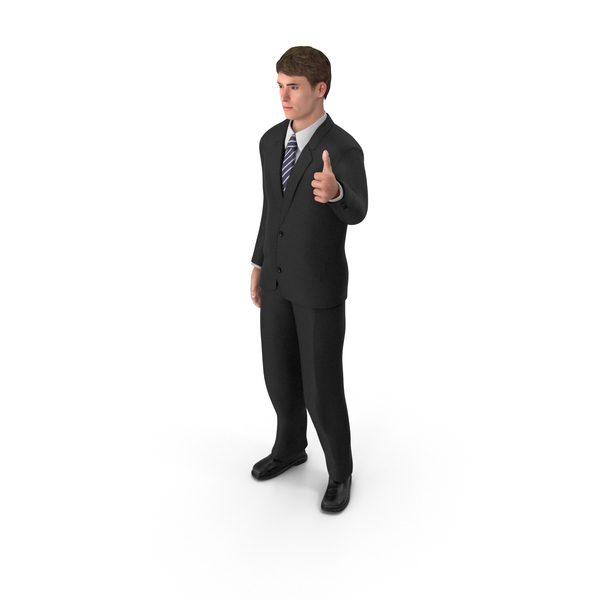 Businessman John Thumbs Up PNG & PSD Images