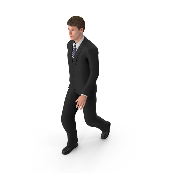 Businessman John Walking PNG & PSD Images