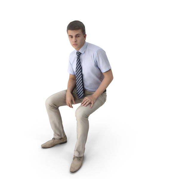 Businessman Sitting PNG & PSD Images