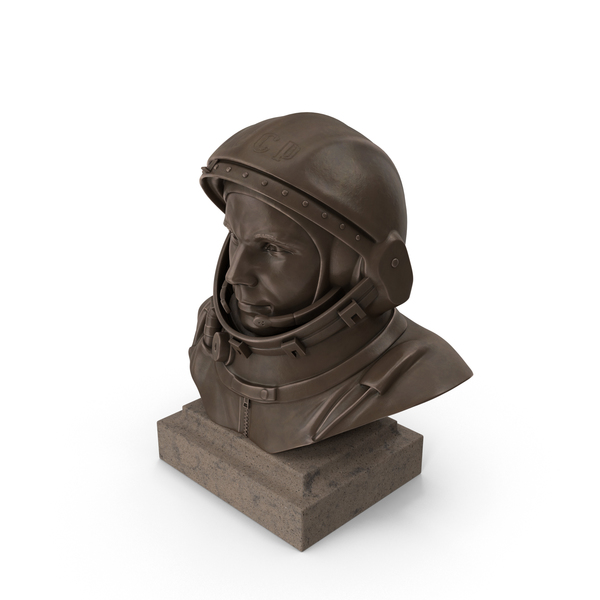 Bust Of Yuri Gagarin PNG & PSD Images