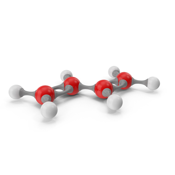 Butadiene Molecular Model PNG & PSD Images