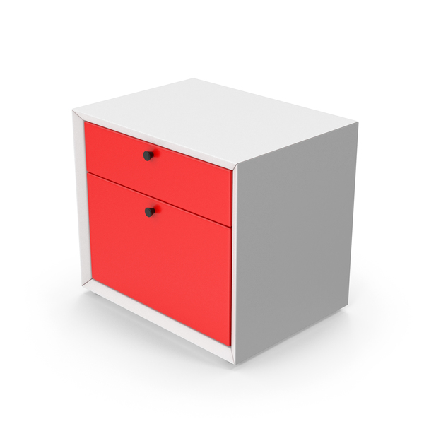 Cabinet Red PNG & PSD Images