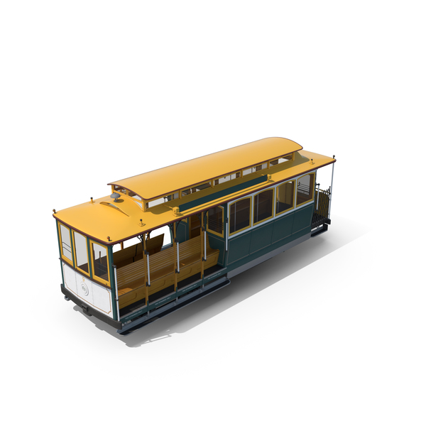 Way: Cable Car PNG & PSD Images