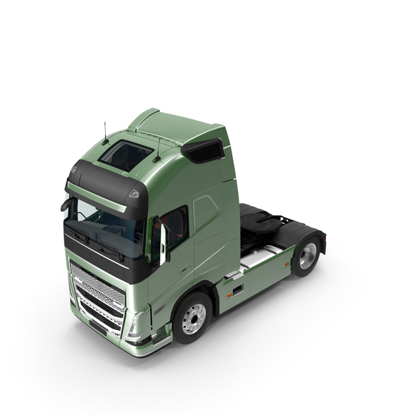 Large Truck: Cabover 4x2 Lorry PNG & PSD Images
