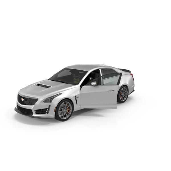 Cadillac CTS V 2016 PNG & PSD Images