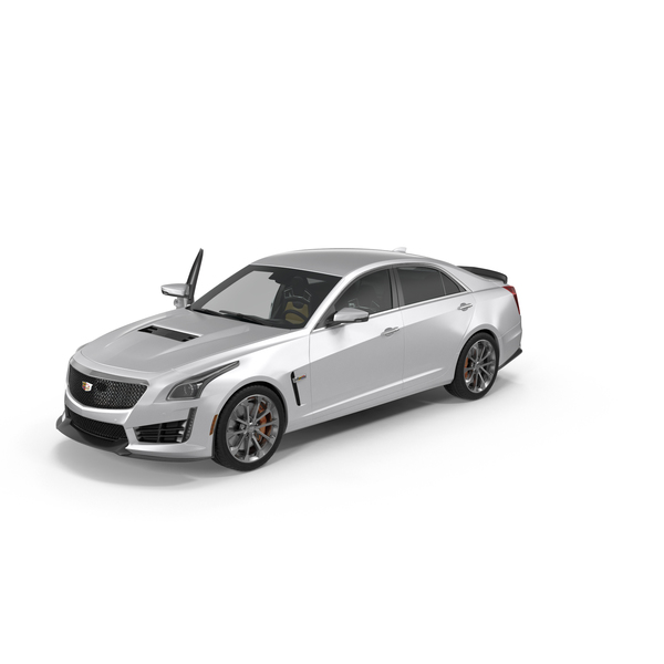 Sedan: Cadillac CTS V 2016 PNG & PSD Images
