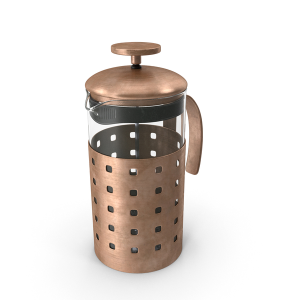 French Press Coffee: Cafetiere PNG & PSD Images
