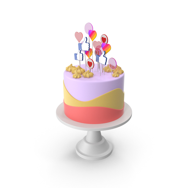 Cake for Social Media PNG & PSD Images