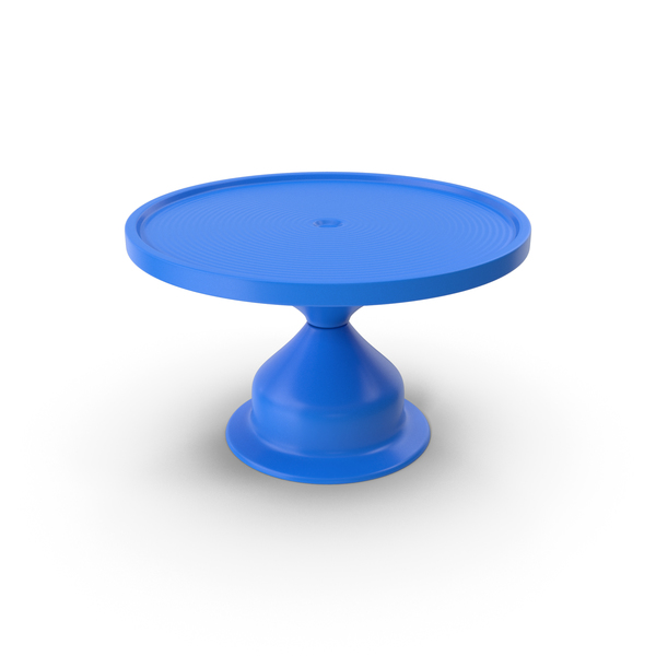Cake Stand Blue PNG & PSD Images