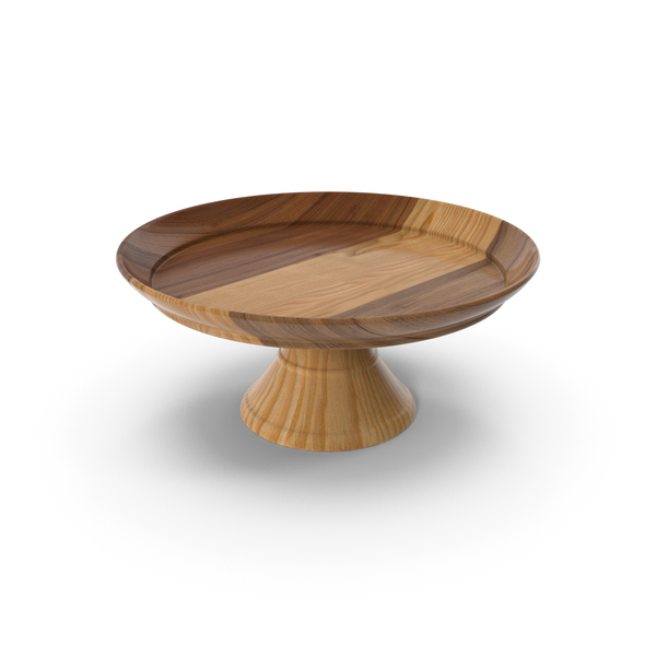Cake Stand Wooden PNG & PSD Images