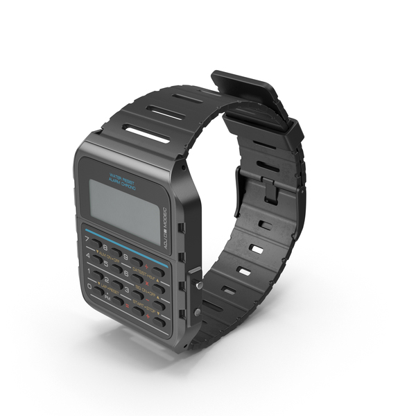 Calculator Watch Object