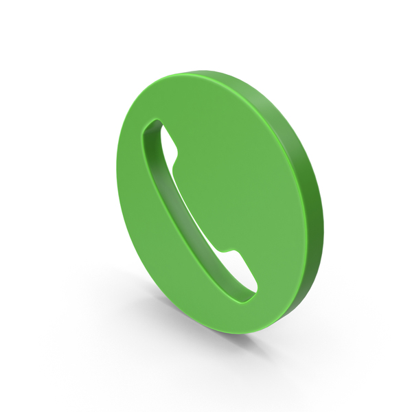Call Icon Green PNG & PSD Images