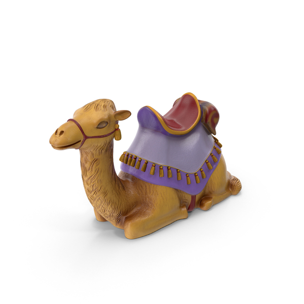 Animal Statue: Camel Figurine PNG & PSD Images