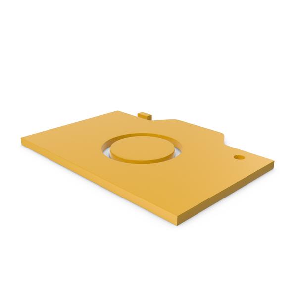 Logo: Camera Yellow Symbol PNG & PSD Images