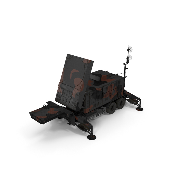 Camouflage Patriot AN MPQ53 Radar PNG & PSD Images