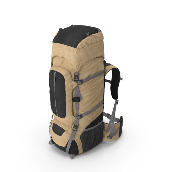 Camping Backpack Object