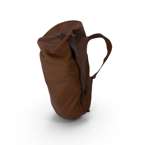 Camping Backpack Large Brown PNG & PSD Images