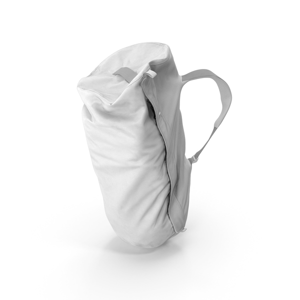 Camping Backpack Large White PNG & PSD Images