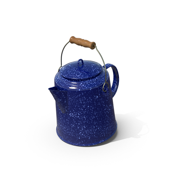 Camping Coffee Pot PNG & PSD Images