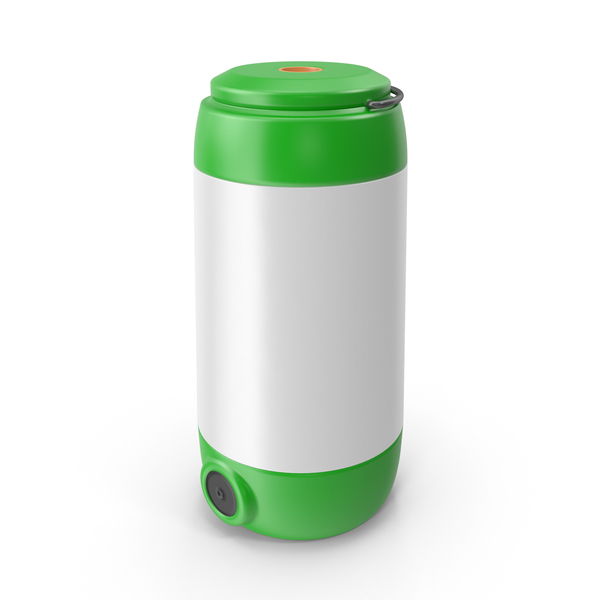 Camping LED Lantern Green PNG & PSD Images