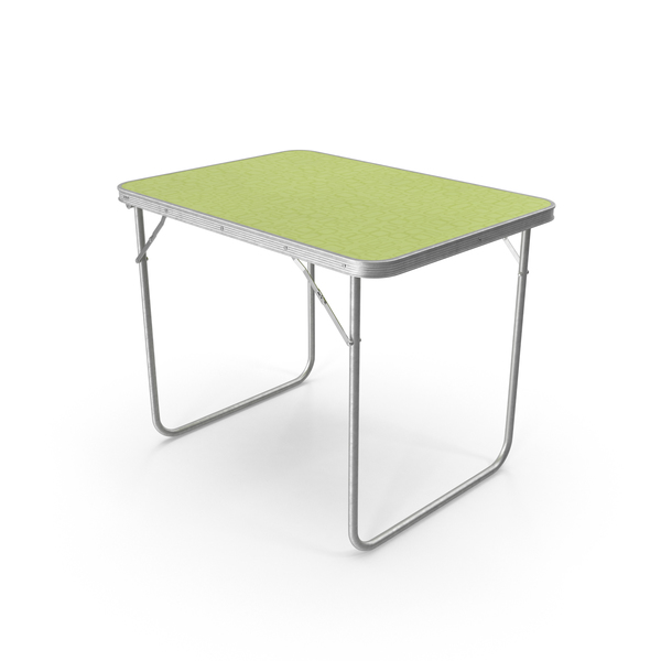 Camping Table Object
