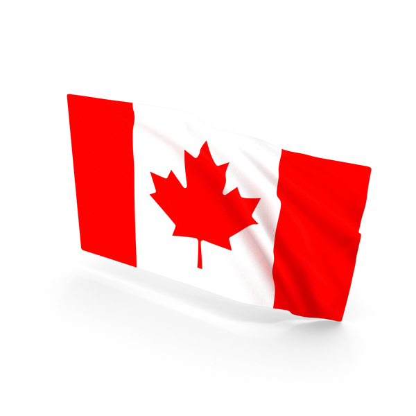 Canadian: Canada Waving Flag PNG & PSD Images