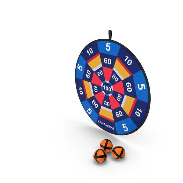 Canaveral Velcro Dartboard Game Set PNG & PSD Images