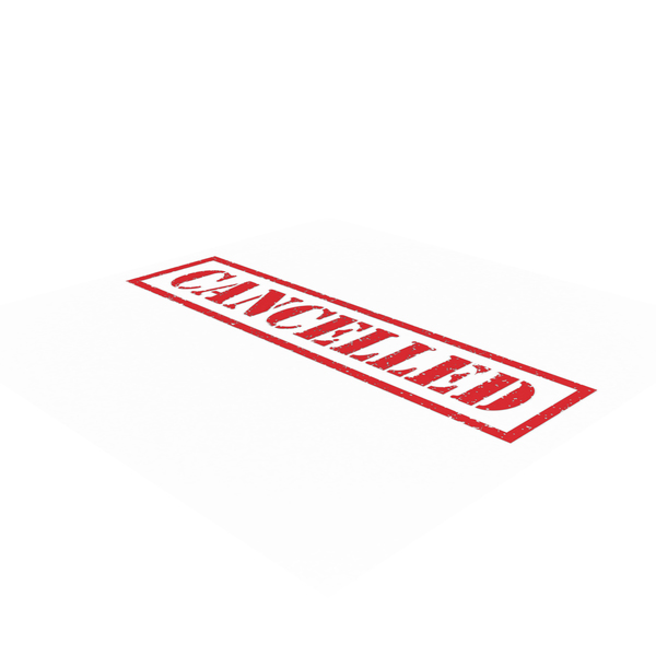 Cancelled Stamp PNG & PSD Images