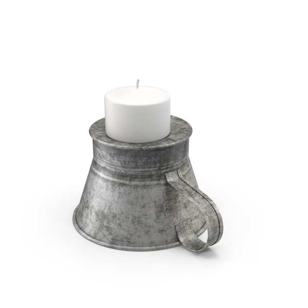 Candlestick Holder: Candle in Candleholder PNG & PSD Images