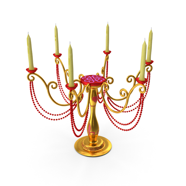 Candle Stand Decorative PNG & PSD Images