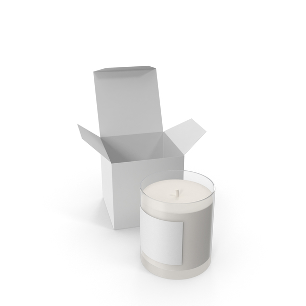 Candles with Box PNG & PSD Images