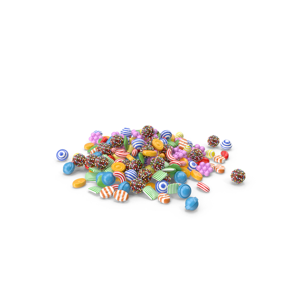 Candy Stack PNG & PSD Images