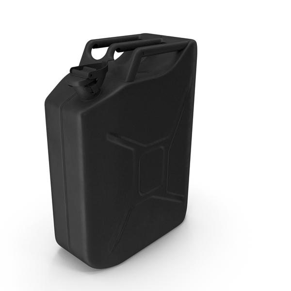 Industrial Gas Tank: Canister Black PNG & PSD Images