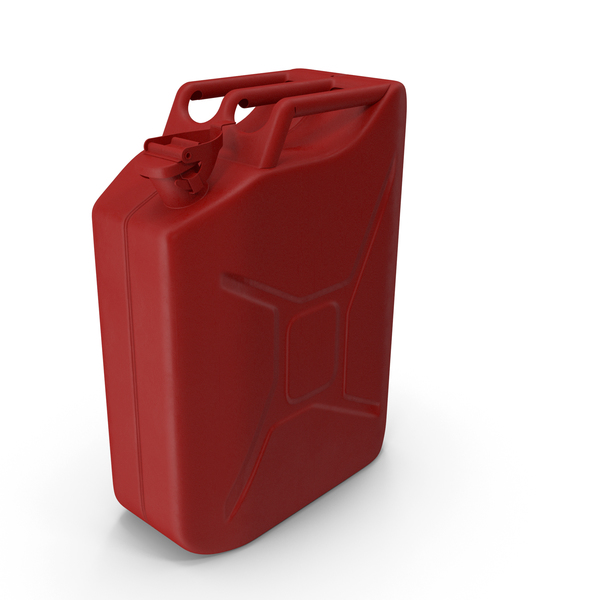 Fuel Container: Canister Red PNG & PSD Images