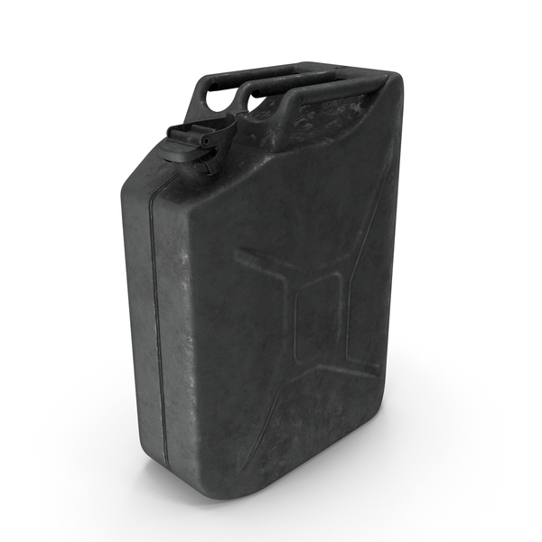 Fuel Container: Canister Rusted Metal PNG & PSD Images