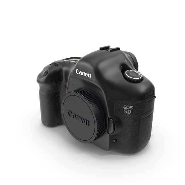 Canon 5D Dslr Body PNG & PSD Images
