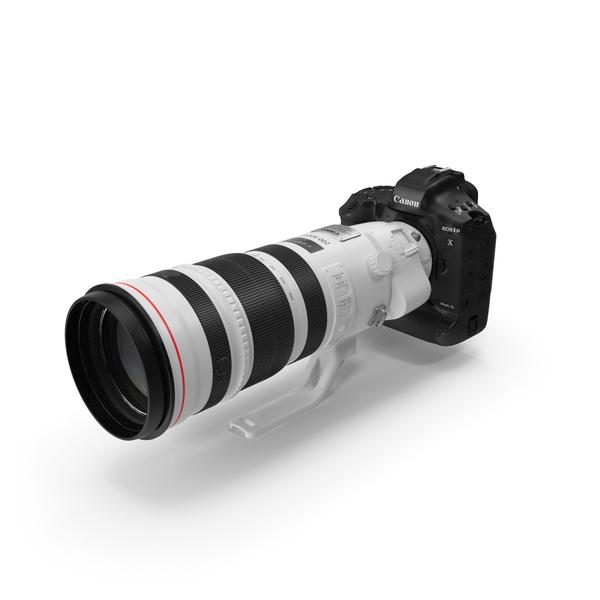 Canon EF 200 400mm USM Extender PNG & PSD Images