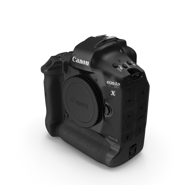 35mm: Canon EOS 1DX MarkIII DSLR Camera PNG & PSD Images