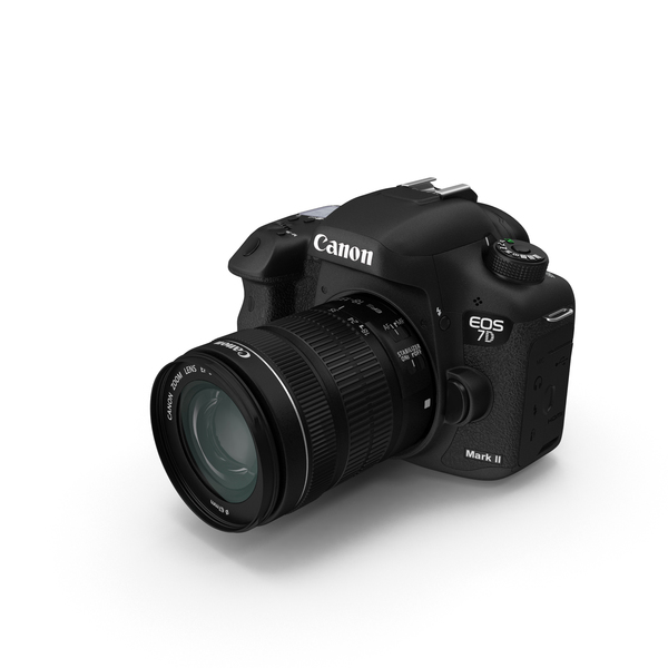 Digital Camera: Canon EOS 7D Mark II PNG & PSD Images