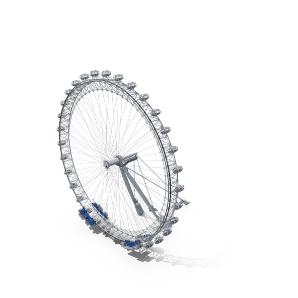 Cantilevered Observation Wheel PNG & PSD Images
