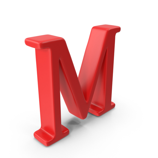 Capital Letter M Object