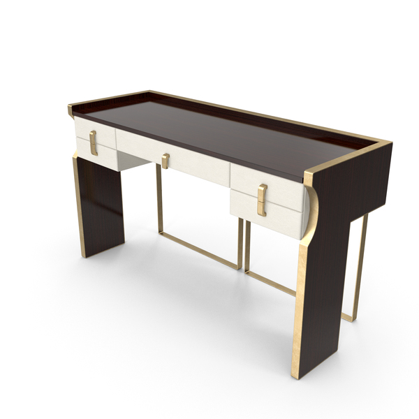 Capital Trilogy Console Table With Drawers PNG & PSD Images