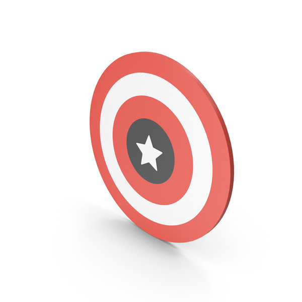 Superhero: Captain America Logo PNG & PSD Images