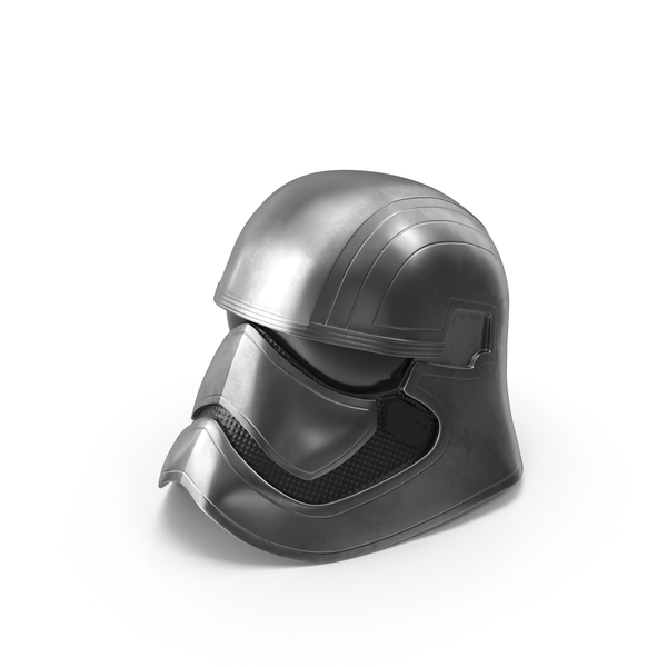 Captain Phasma Helmet PNG & PSD Images