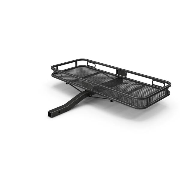 Car Cargo Basket Black Used PNG & PSD Images